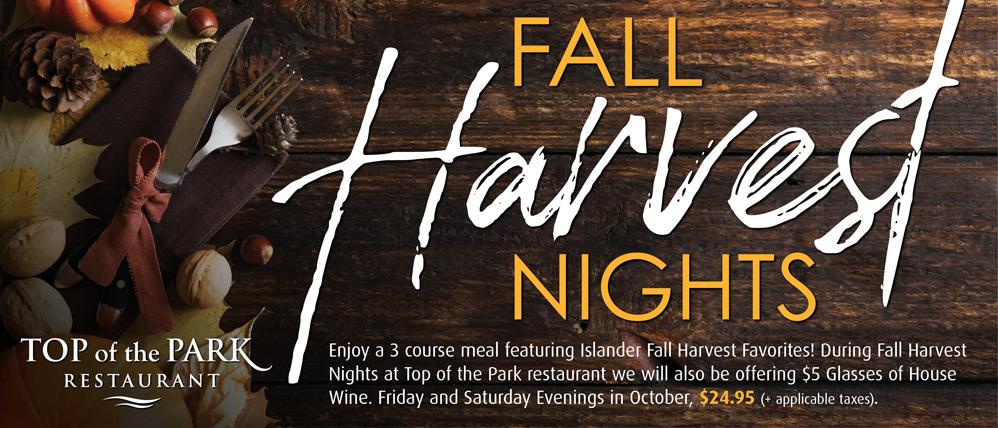 Fall Harvest Nights