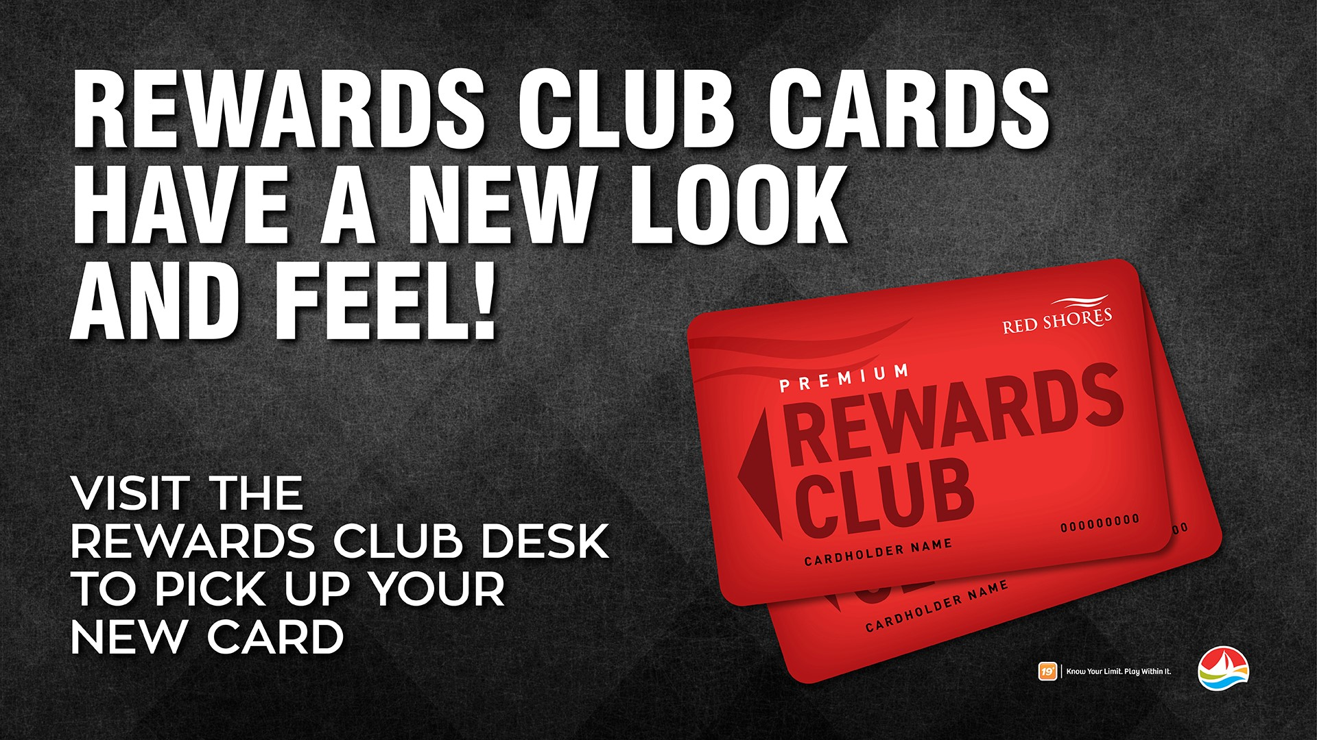 red shores racetrack and casino - rewards club