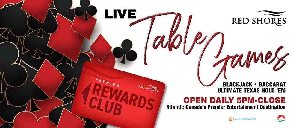 Live Table Games - June Offer